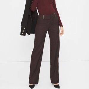 WHMB The Wide Leg Purple Sailor Pant High Waist